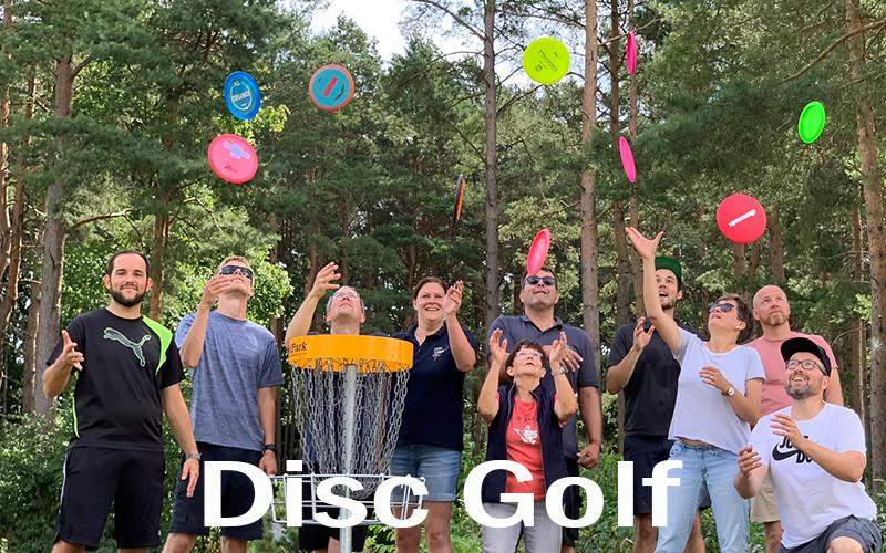 Arbeitseinsatz Disc Golf